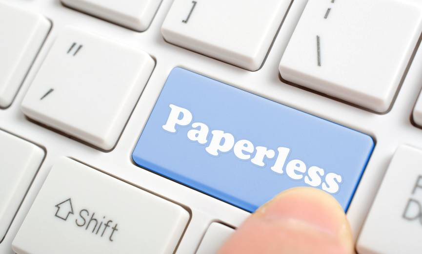 Go Green by Going Paperless